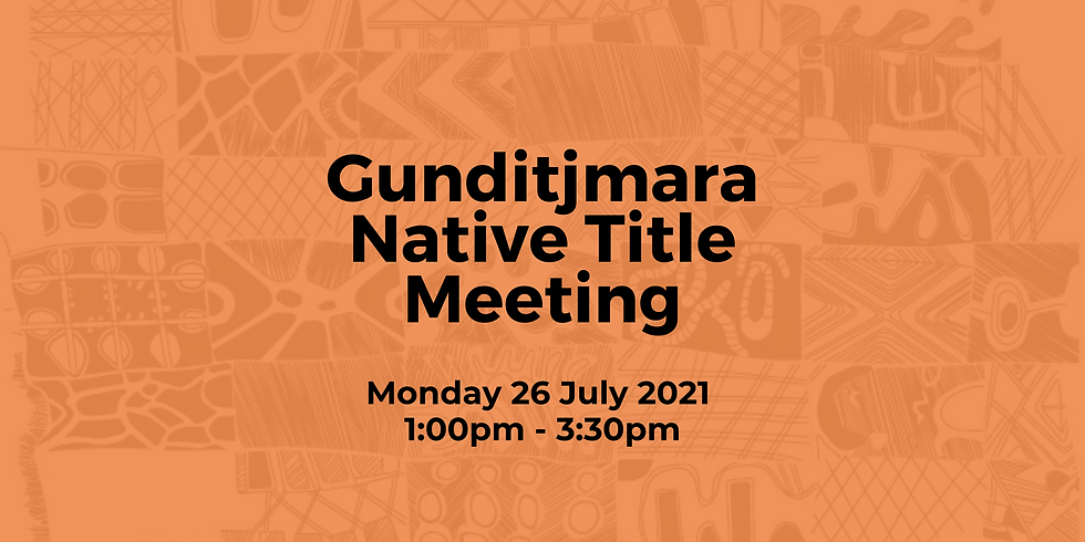Gunditjmara Native Title Meeting