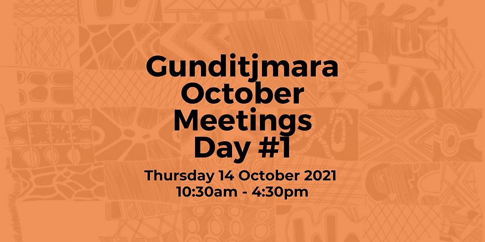 Day 1: Gunditjmara October Meeting