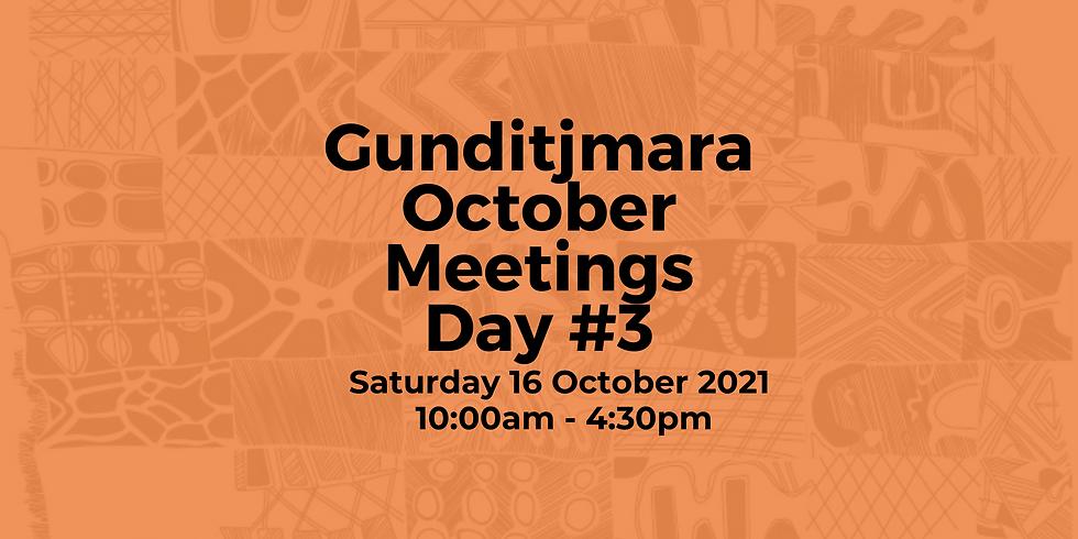 Day 3: Gunditjmara October Meeting (Native Title Meeting)