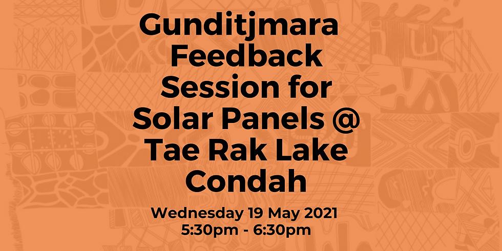 Gunditjmara / GMTOAC Feedback Session for Solar Panels @ Tae Rak Lake Condah