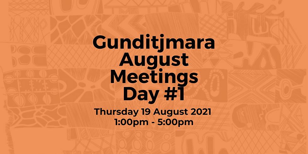 Gunditjmara August Meeting