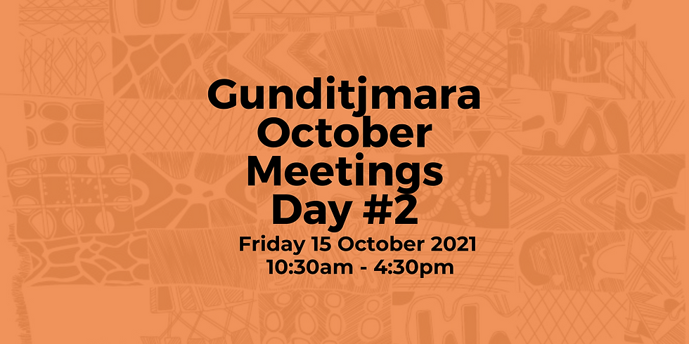 Day 2: Gunditjmara October Meeting