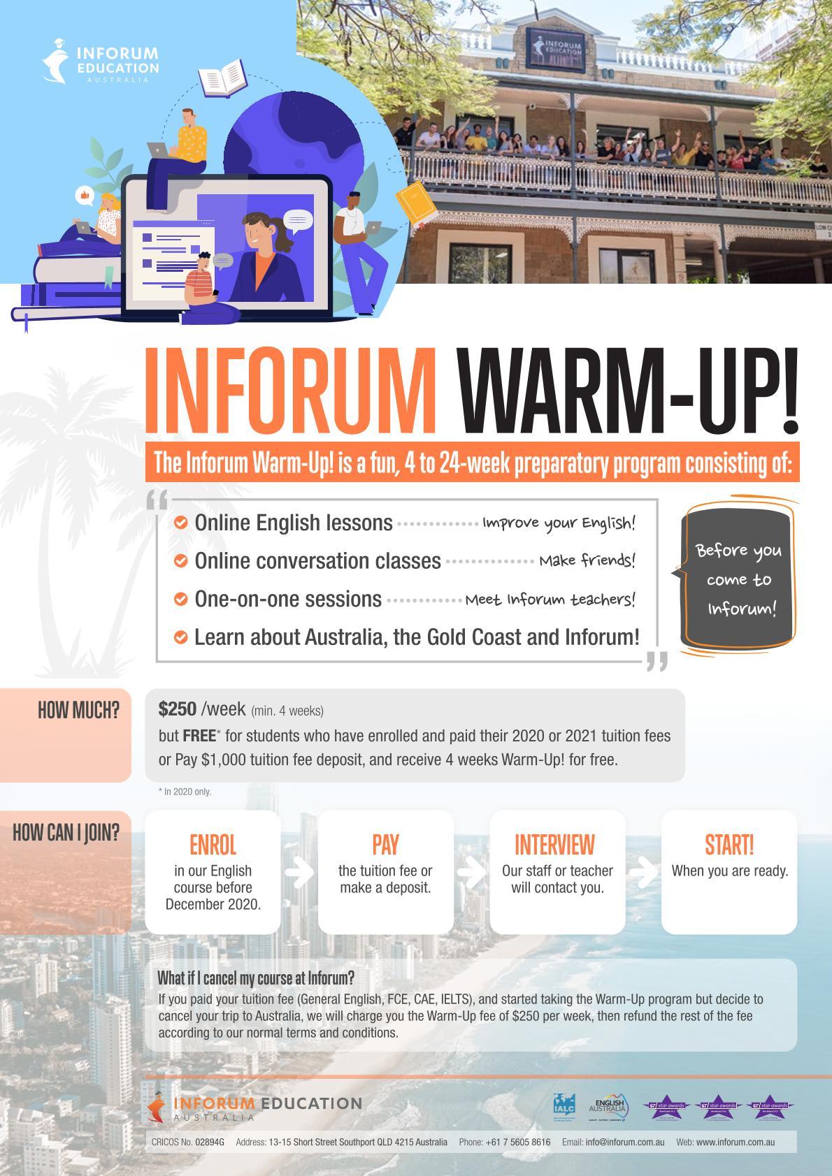 Inforum-WarmUp