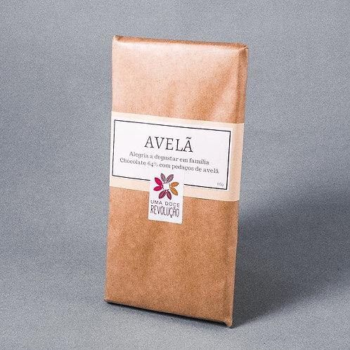 Chocolate Avelã 64% - 80G -