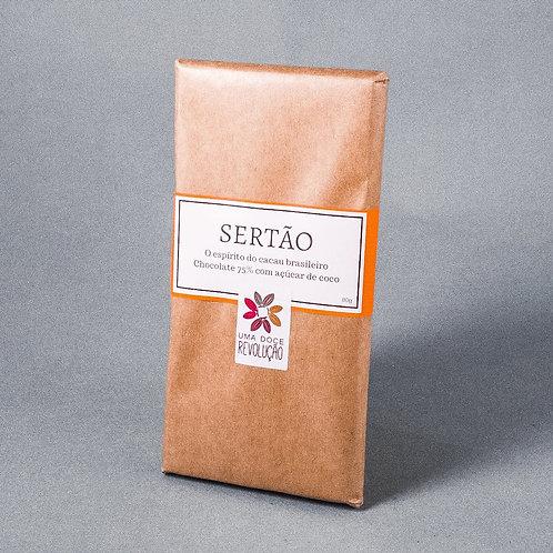 Chocolate Sertão 75% - 80G -