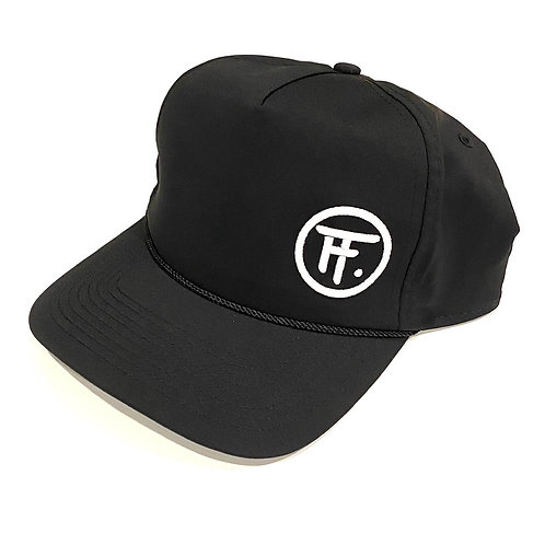 Imperial Fine-Tuned Rope Hat (Black/White)
