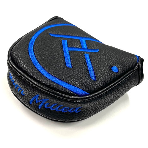 SM 1/2 Mallet Headcover (Black/Blue)