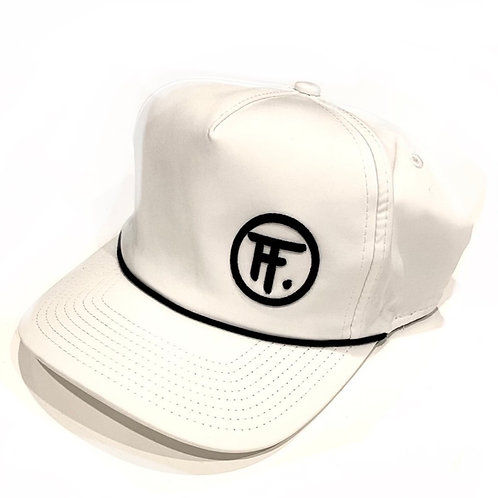 Imperial Fine-Tuned Rope Hat (White/Black)