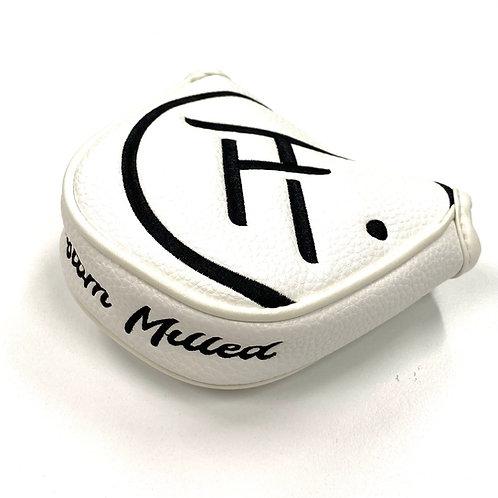 SM 1/2 Mallet Headcover (White/Black)