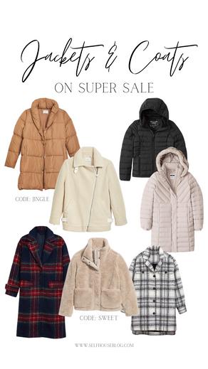 SHOP | Coats & Jackets on SUPER SALE