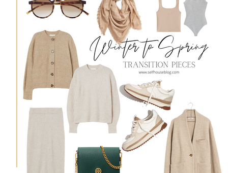 SHOP | Winter-Spring Transition Pieces