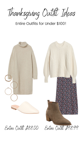 SHOP | Thanksgiving Outfit Ideas
