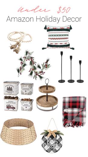 SHOP | Amazon Christmas Decor Under $50