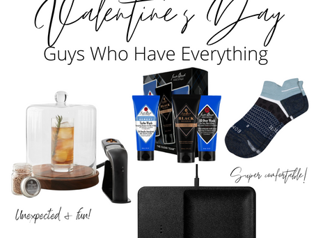SHOP | What To Get The Man That Has Everything For Valentine's Day