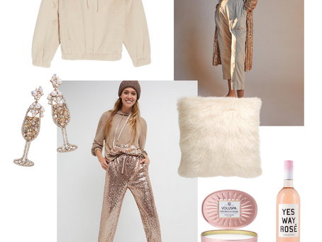 SHOP | Comfy, Chic New Years Loungewear