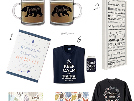 SHOP | Gift Guide for Grandparents