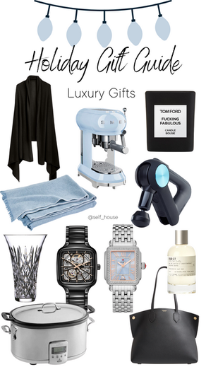 SHOP   Gift Guide Luxury Gifts