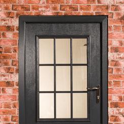 Snowdon Anthrcite Grey Door