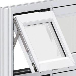 Welded Flush Sash Slim Window Frame