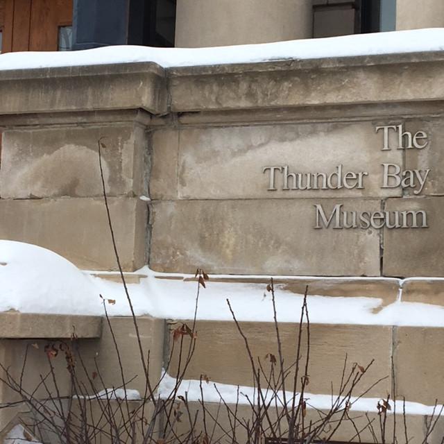 Thanks, Thunder Bay Museum!
