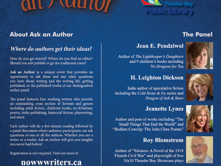 Ask an Author Poster