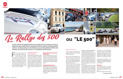 Article AUTOMOBELLE MARS 2019