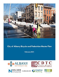 City of Albany Bicycle and Pedestrian Ma