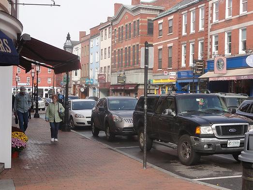 urban downtown street