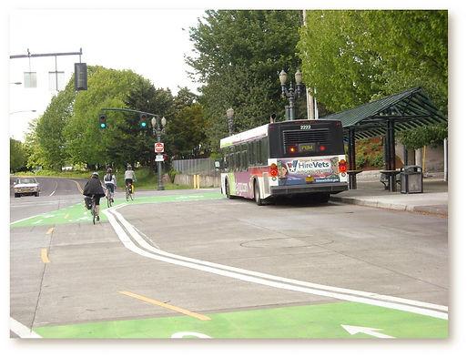 bike and bus lane