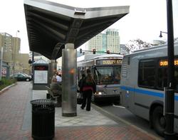 BRT Station in Boston, MA