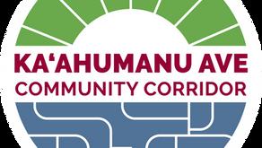 County of Maui announces Ka'ahumanu Ave Community Corridor