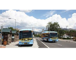 Mountain Link Station Concept Plan and BRT in Mixed Traffic
