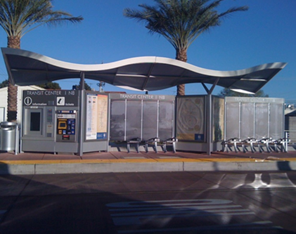 BRT Station in Las Vegas, NV