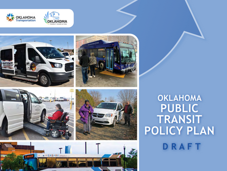 State's first draft public transit plan released by ODOT and Oklahoma Transit Association