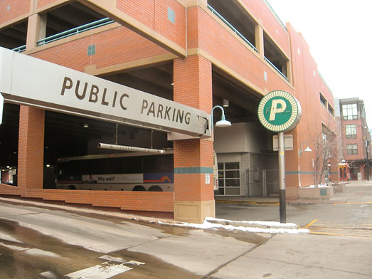 public/private parking garage