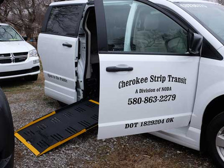 Site Visit with Cherokee Strip Transit