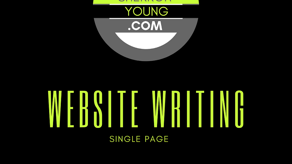 Website Writing (per page)