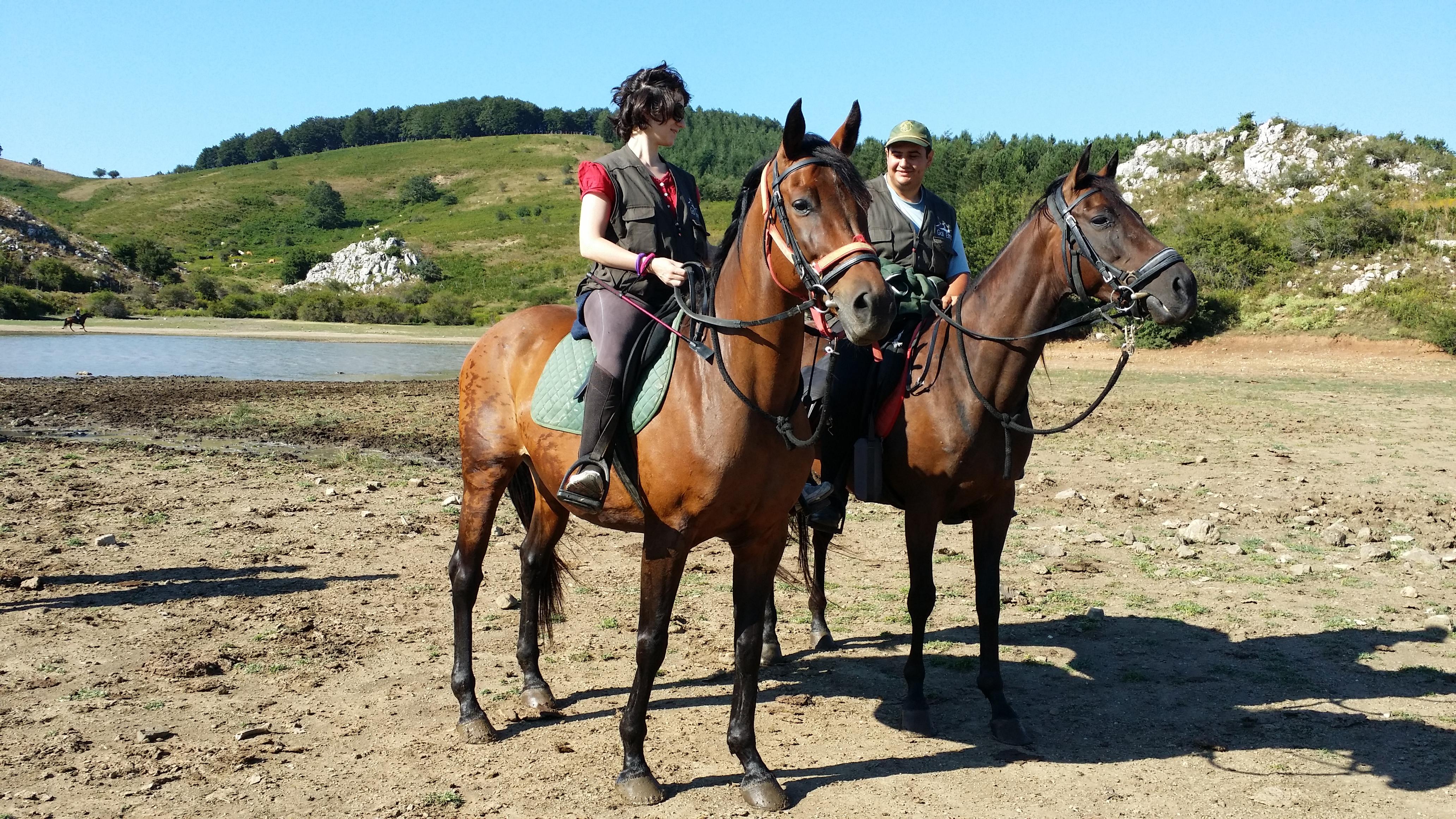 Passeggiate a cavallo naturalistiche