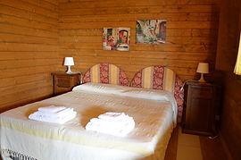 foto del bungalow in legno