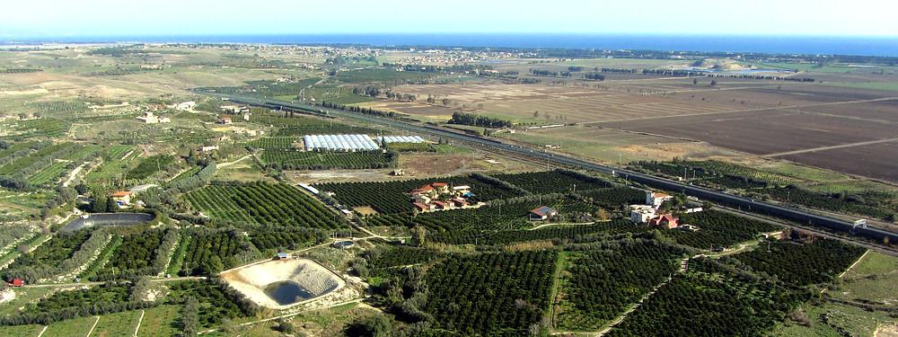 Vista aerea Agriturismo