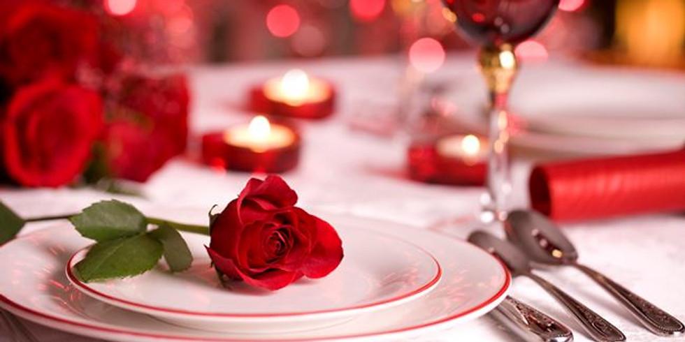 Cena di S. Valentino con musica dal vivo