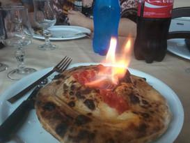 Etna in eruzione (flambè)