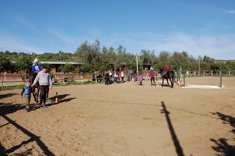 La befana a cavallo