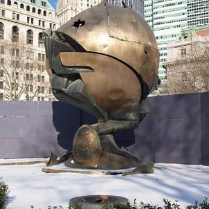 Sphere im New Yorker Battery Park