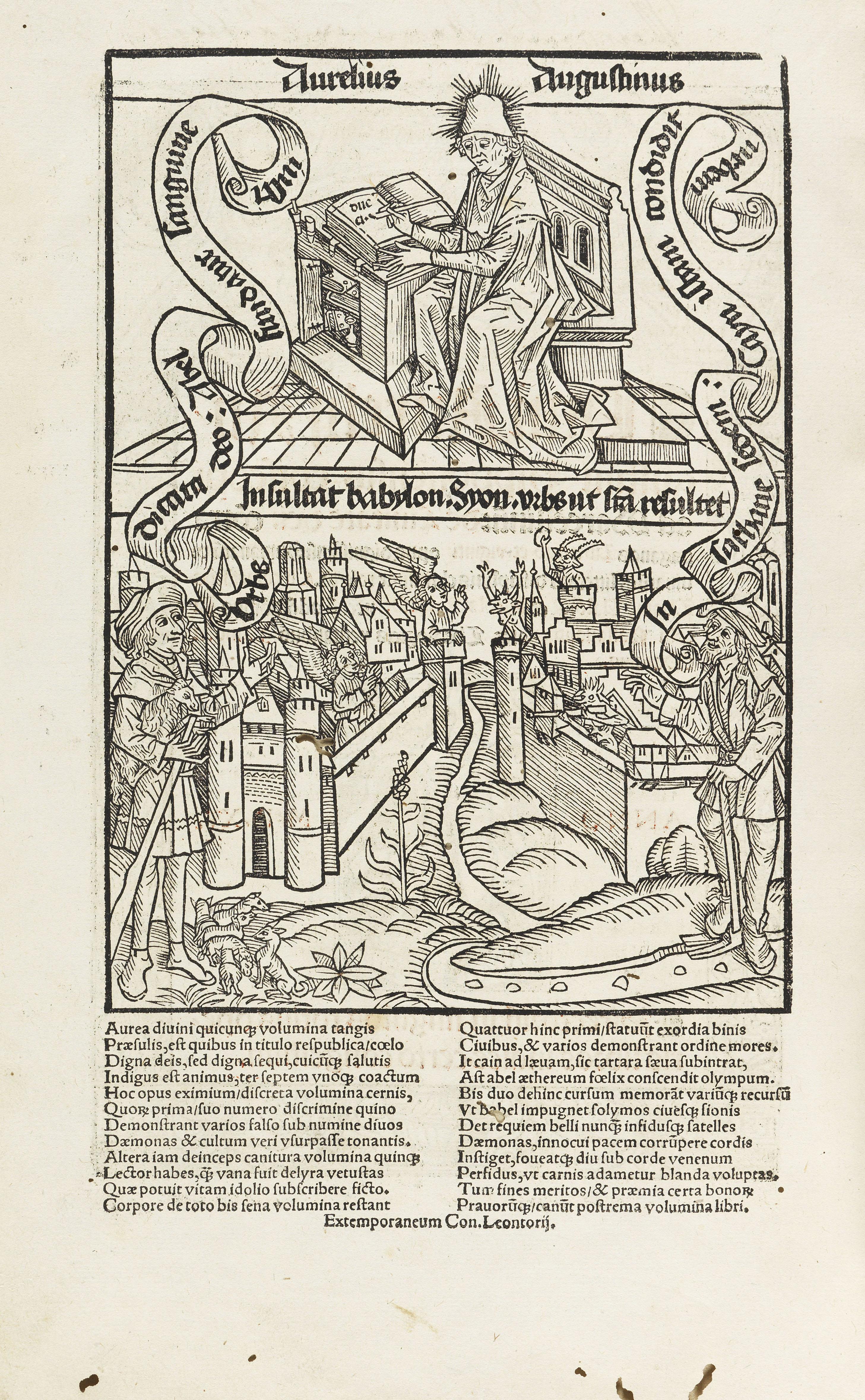 Augustinus: De civitate dei, 1515
