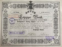 Leipziger Bank, 1839