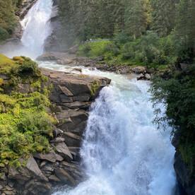 mittlere Wasserfälle in Krimml
