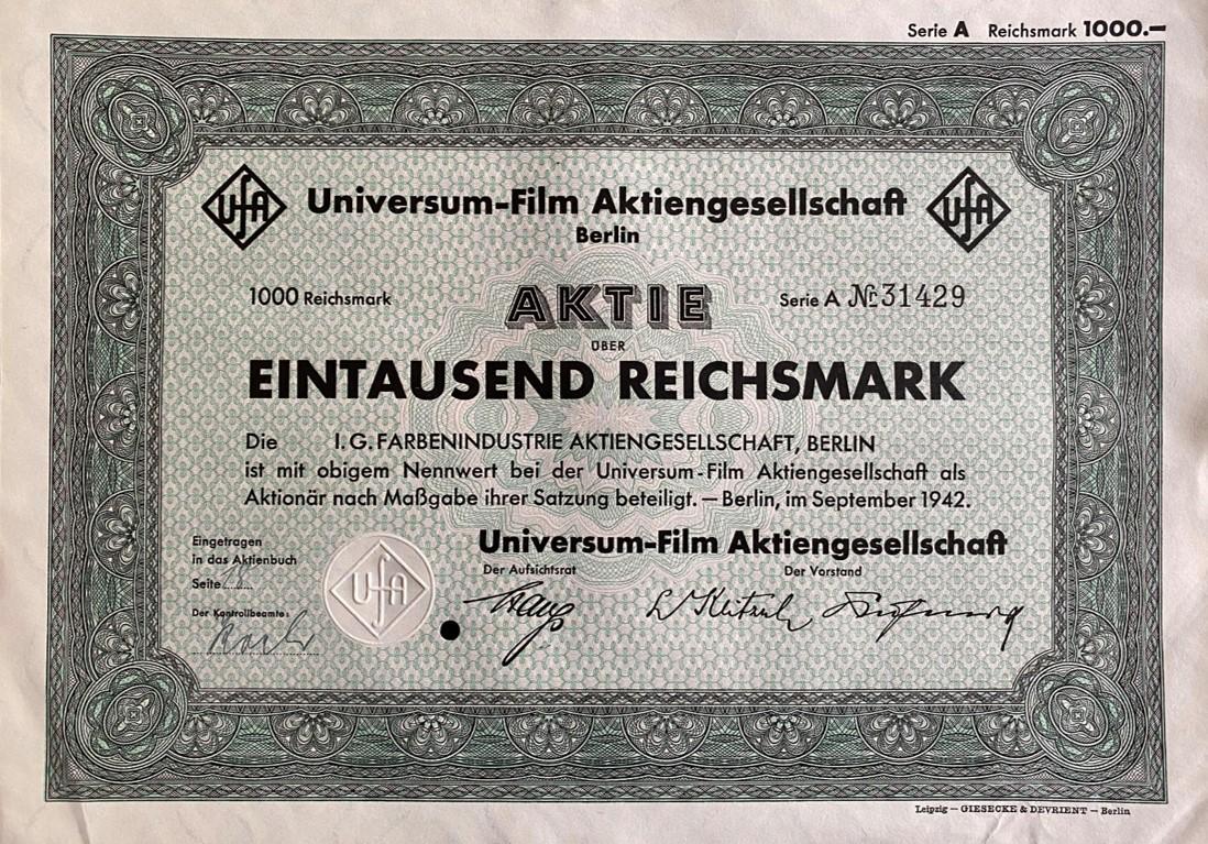 Universum-Film AG, 1942