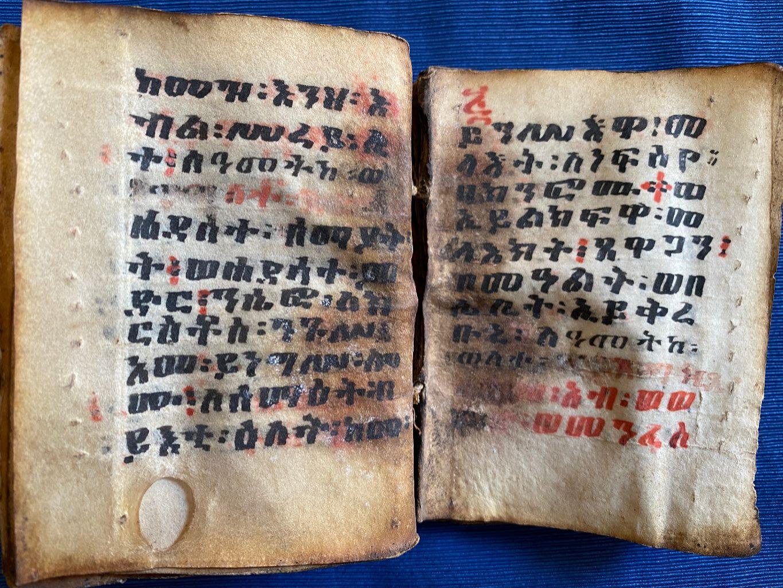 Gebetbuch, Äthiopien, ca. 1780