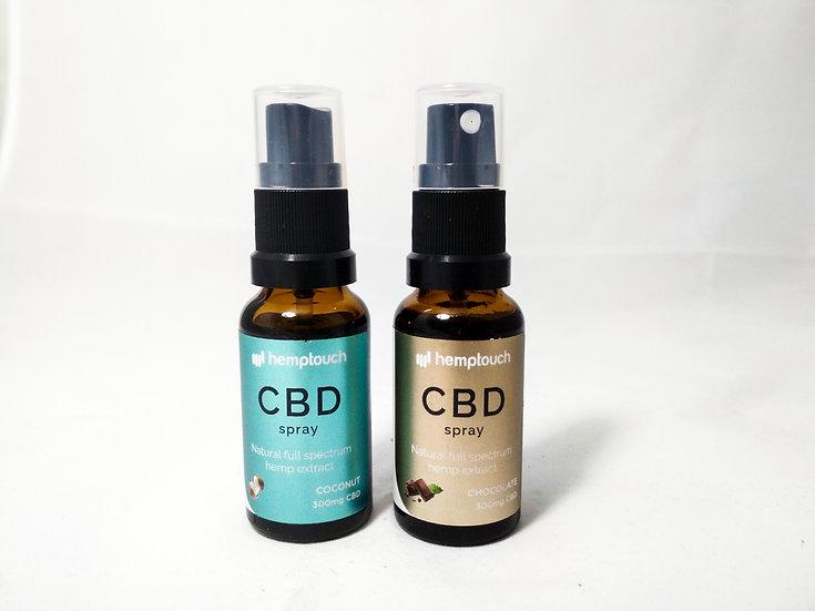 CBD Spray mit Geschmack